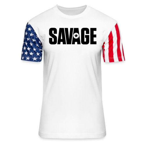 SAVAGE - Unisex Stars & Stripes T-Shirt