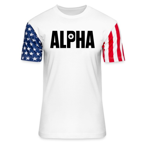 ALPHA - Unisex Stars & Stripes T-Shirt