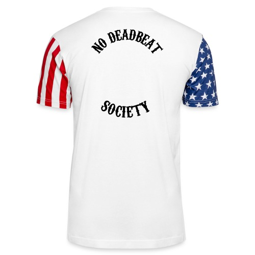 Queen To A King T-shirt - Unisex Stars & Stripes T-Shirt
