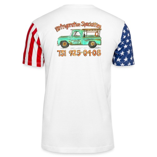 Refrigeration Specialties - Unisex Stars & Stripes T-Shirt
