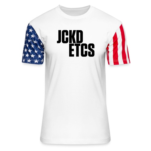 JE_BACK - Unisex Stars & Stripes T-Shirt