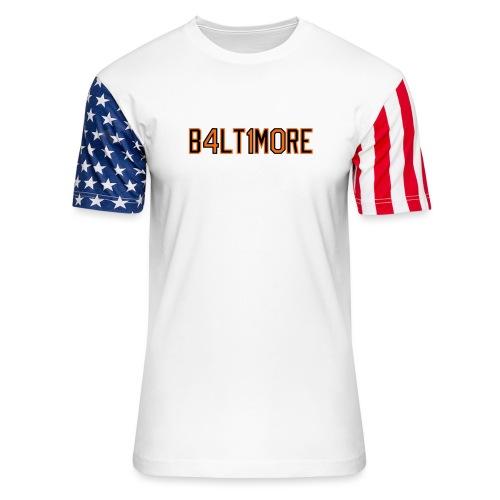 B4LT1M0RE - Unisex Stars & Stripes T-Shirt