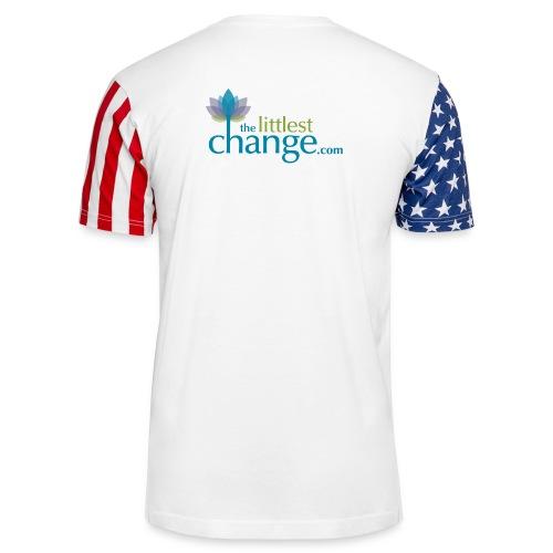 Teach, Love, Nurture - Unisex Stars & Stripes T-Shirt
