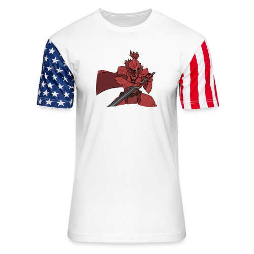 Knight/TTV - Unisex Stars & Stripes T-Shirt