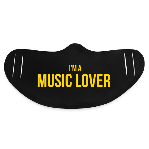 Music Lover small - Basic Lightweight Face Mask