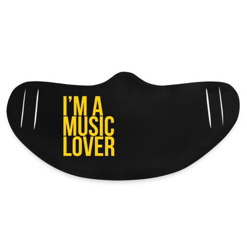 Music Lover big - Basic Lightweight Face Mask