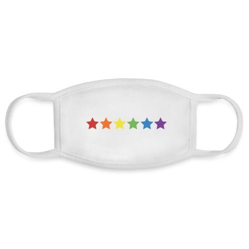 Pride Rainbow Stars - Face Mask