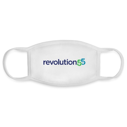 Revolution55 Logo - Face Mask