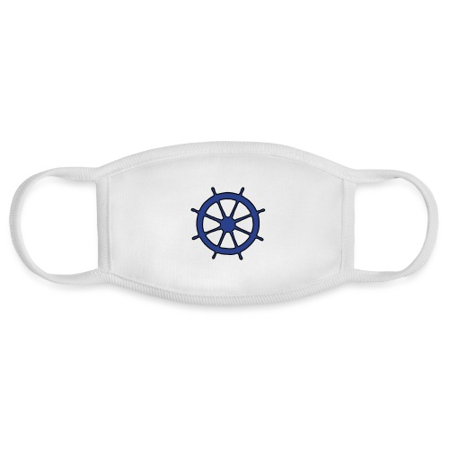 Steering Wheel Sailor Sailing Boating Yachting - Face Mask
