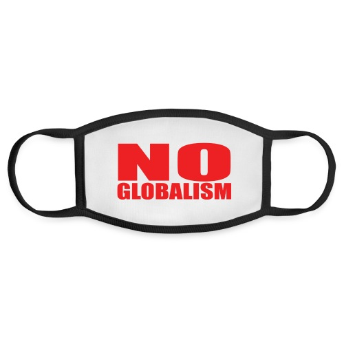 No Globalism - Face Mask