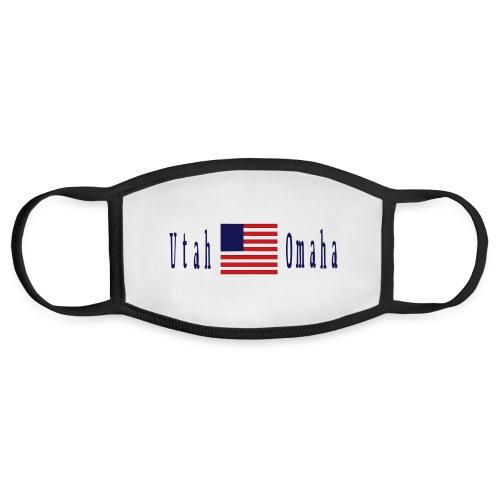 USA Utah Omaha D Day - Face Mask