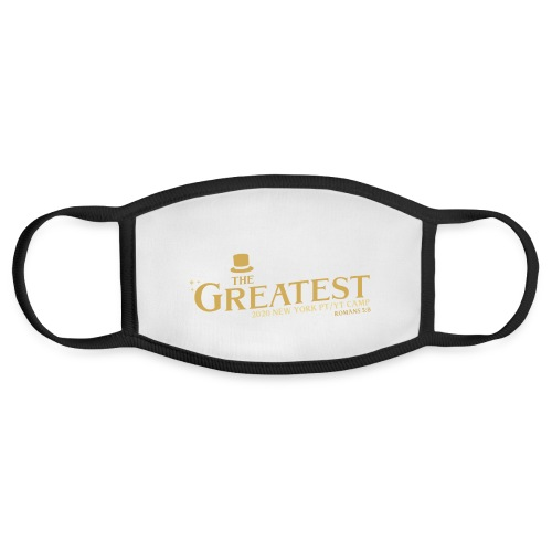 The Greatest NYCCOC PTYT CAMP 2020 - Face Mask