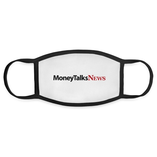Money Talks News Logo - Face Mask