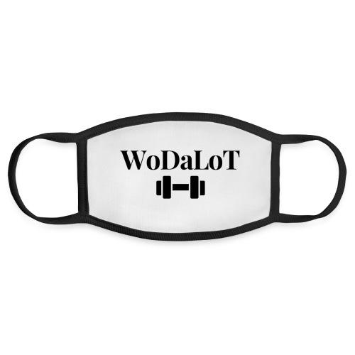 WoDaLoT black logo - Face Mask