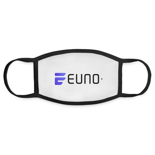 EUNO LOGO LANDSCAPE BLACK FONT - Face Mask