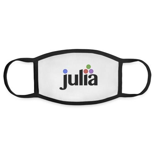 Official Julia Logo - Face Mask