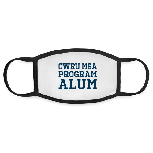 CWRU MSA Program Alum - Face Mask