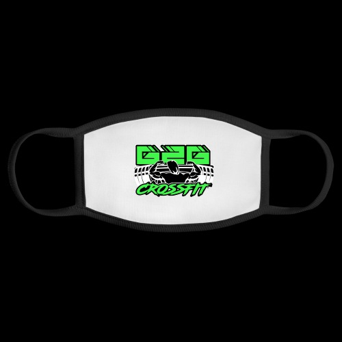 Electrifying Green Full G2G Logo - Face Mask