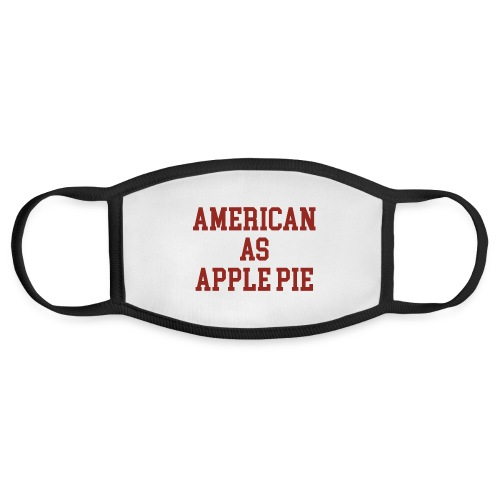 American as Apple Pie - Face Mask