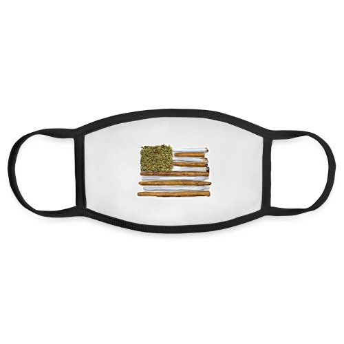 American Flag With Joint - Face Mask