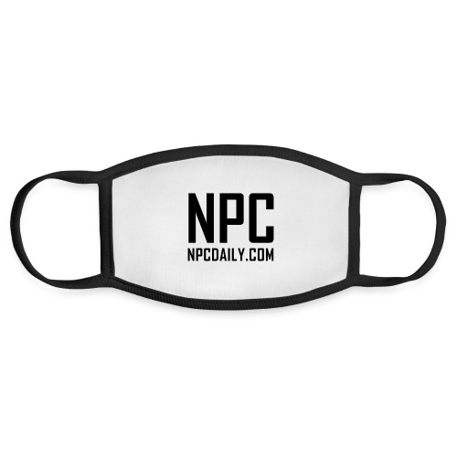 N P C with site black - Face Mask