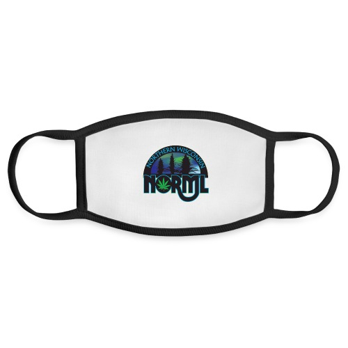Northern Wisconsin NORML Official Logo - Face Mask