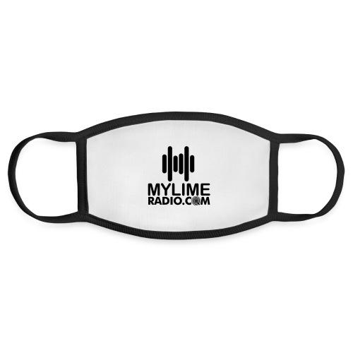 MyLimeRadio MAIN LOGO (Solid) - Face Mask