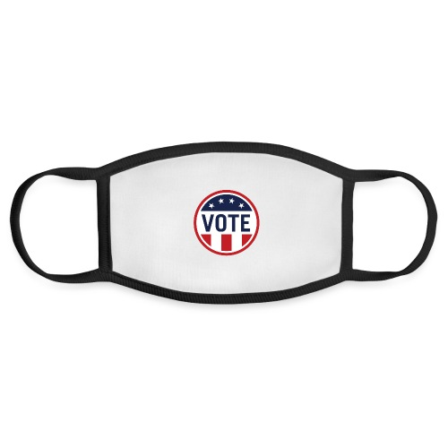 Vote Red White and Blue Stars and Stripes - Face Mask