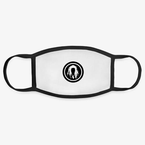Black circle logo - Face Mask
