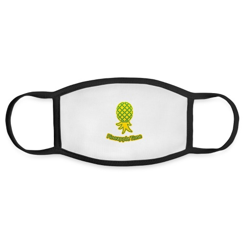 Swingers - Pineapple Time - Transparent Background - Face Mask