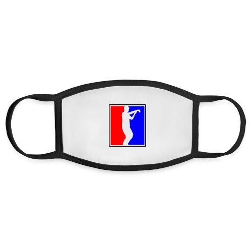 Tai Chi Sports Logo black outline - Face Mask
