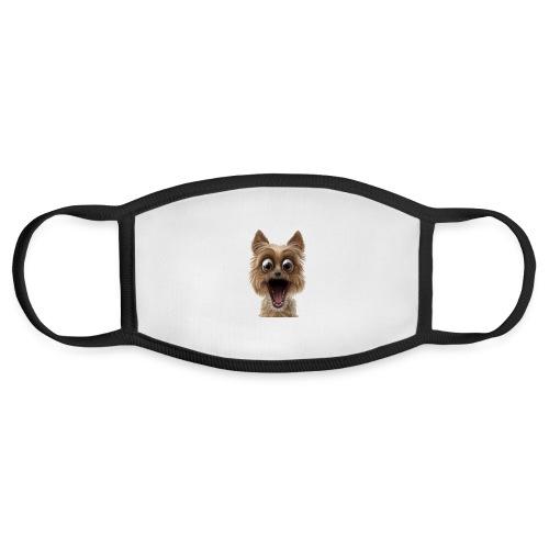 Dog puppy pet surprise pet - Face Mask