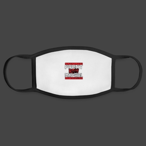 Front Row Material Logo - Face Mask