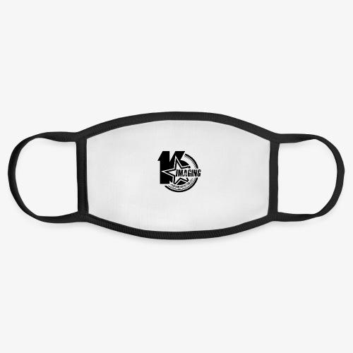 16IMAGING Badge Black - Face Mask