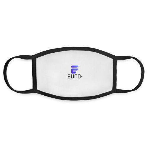 EUNO LOGO POTRAIT BLACK FONT - Face Mask