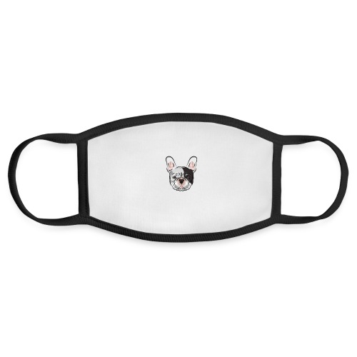 pngtree french bulldog dog cute pet - Face Mask