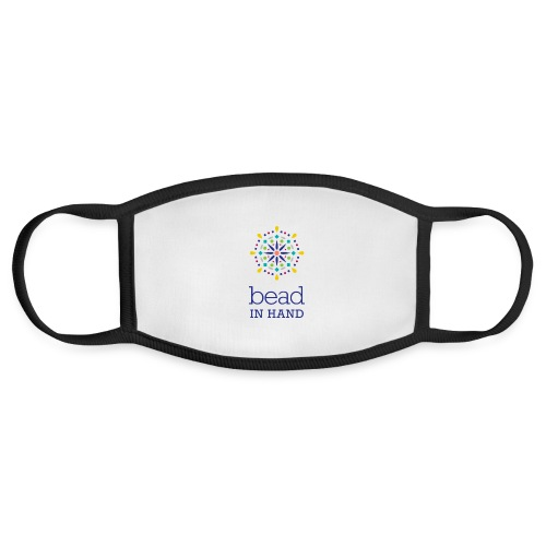 Bead In Hand Logo with Name - Face Mask