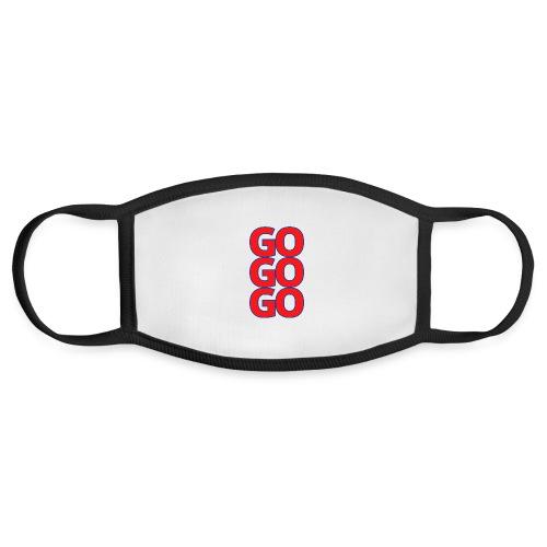 Go Go Go - Support Hockey Team - Face Mask