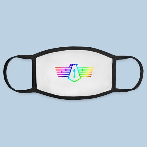 Westport Bird Rainbow on transparent - Face Mask