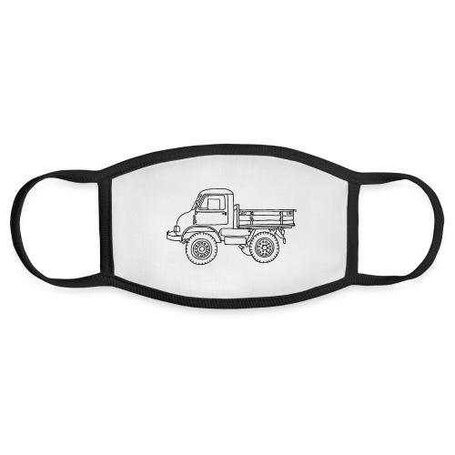 Off-road truck, transporter - Face Mask