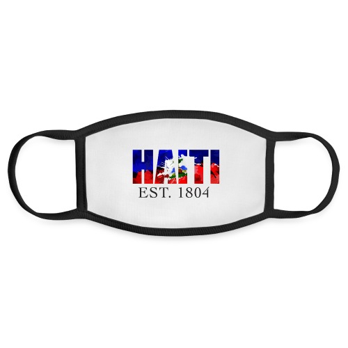 HAITI EST. 1804 - Face Mask