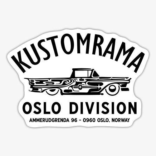 Oslo Division - Sticker