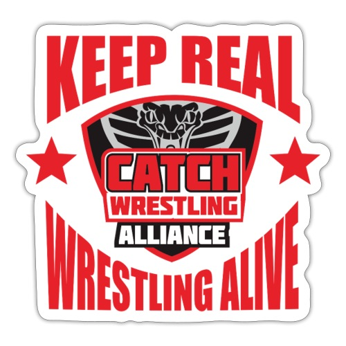 Keep Real Wrestling Alive - Sticker