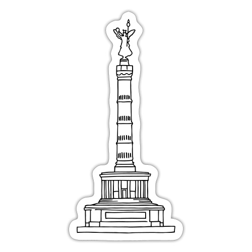 Berlin Victory Column - Sticker