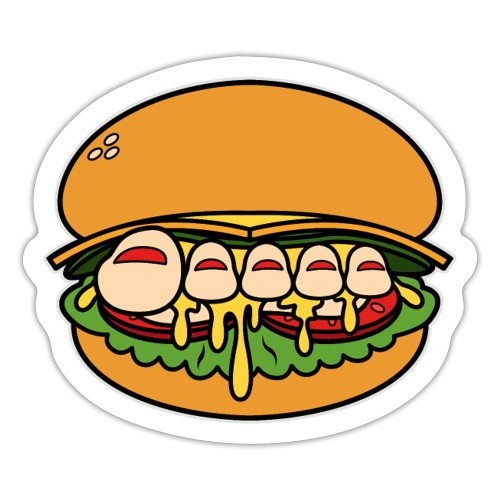 Team Pretty Feet™ Burger Queen - Sticker