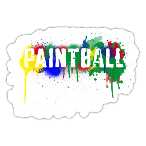 color_paintball - Sticker