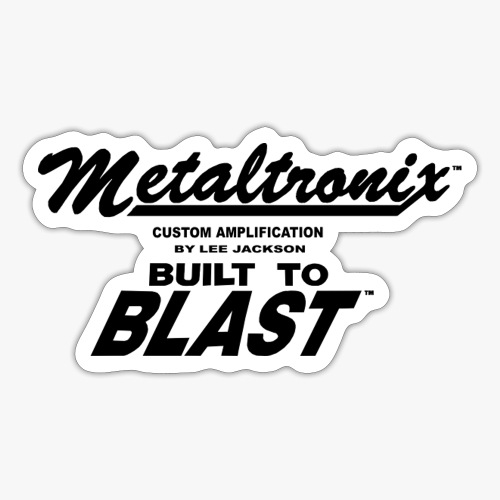 Lee Jackson Metaltr b - Sticker