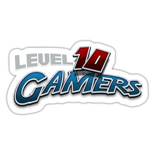 Level10Gamers Logo - Sticker