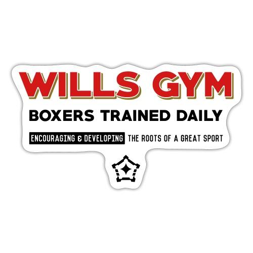 Wills Gym - Sticker
