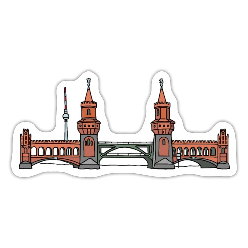 Oberbaum Bridge Berlin - Sticker